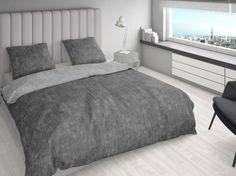 Unieke dubbelzijdige dekbedovertrek in de kleuren antraciet en grijs met een linnenlook! Het dekbedovertrek is vervaardigd van hoogwaardig katoen. Zowel de kussenslopen als dekbedovertrek zijn dubbelzijdig te gebruiken!