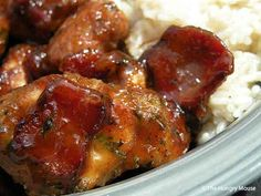 "Maple Whiskey Chicken. I can almost smell this cooking! A ""win-win"" recipe!  ☀CQ #southern  #recipes"