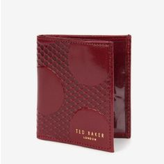 SMLSPOT二つ折ミニ財布 テッドベーカー  TED BAKER オンライン通販【テッドベーカースタイル】