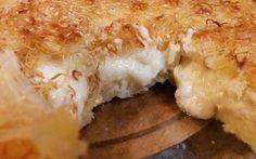 tyropita me kataifi Greek Desserts, Greek Recipes, Keto Recipes, Dessert Recipes, Cooking Recipes, Filo Recipe, Cyprus Food, Slimming World Recipes, T 4
