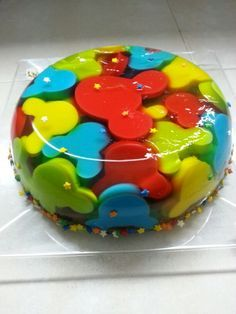 Mickey Mouse Gelatin