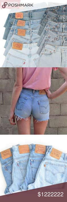 VINTAGE JEANS & DENIM SHORTS SIGN UP LIST! I have a large collection of Levi's, Wranglers, Lee, Clavin Klein jeans and jean shorts that I am constantly adding to my store. Post your size and what style you're looking for, and I'll tag you in my listings so you get first dibs! Check out my other listings just in case 😊 Levi's Jeans