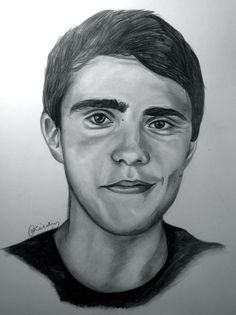 Alfie Deyes #portrait #illustration #art #youtube