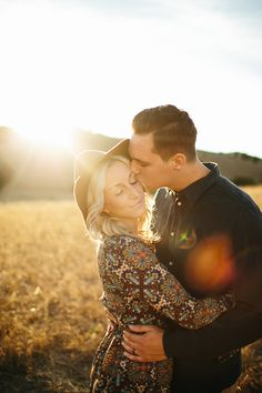 A boho golden hour anniversary shoot  by Emily Magers Photography - Wedding Party