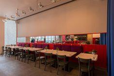 Restaurant Emma Metzler, Frankfurt, Design: Prof. Uwe Fischer