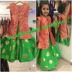 Trendy Dress For Kids Ideas Girls Party Wear, Kids Dress Wear, Kids Gown, Frocks For Girls, Dresses Kids Girl, Girl Outfits, Baby Dresses, Kids Ethnic Wear, Kids Frocks Design