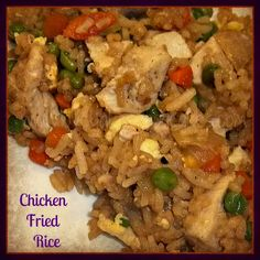 Love Bakes Good Cakes: Chicken Fried Rice