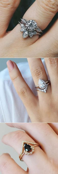 unique engagement rings for lovley brides #UniqueEngagementRings