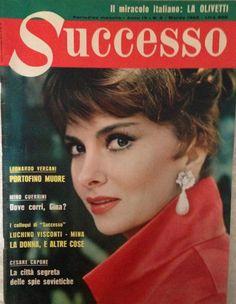 Gina Lollobrigida - Successo Magazine Cover [Italy] (March 1962)