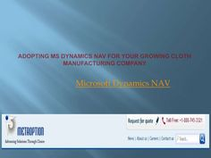 For planning to adopt the Dynamics NAV, there are professional service providers whom Microsoft has partnered for disbursing the service and will look after the after sales service too. For More Details Visit us @  http://www.metaoption.com/Services/Dynamics-NAV.aspx