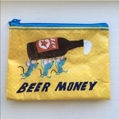 """""""Beer Money"""" Coin Purse~NWOT~Firm Unless Bundled """"Beer Money"""" Coin Purse~NWOT~Great to give gift cards in~3"""" X 4""""~Firm unless Bundled Accessories Key & Card Holders"""