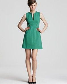 DIANE von FURSTENBERG Front Button Dress - Catherine Suiting