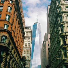 Photos and videos by One World Trade ( The Freedom Tower, One World Trade Center, Travel And Tourism, First World, New York City, New York Skyline, Street View, Nyc, Photo And Video