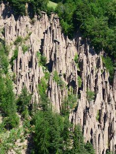 le piramidi di terra sul renon
