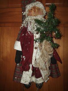 Primitive Olde World Santa Claus Father by Hilltophomesteader
