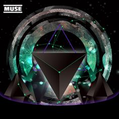 Experimental Muse Music Cover 2 by Mike Hung, via Behance