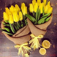 Find images and videos about flowers, yellow and rose on We Heart It - the app to get lost in what you love. Love Flowers, Spring Flowers, Beautiful Flowers, Bouquet Wrap, Yellow Tulips, Lemon Yellow, Love Pictures, Colorful Decor, Planting Flowers