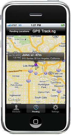 iphone as tracking device