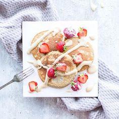 Sunne, proteinrike sandwichvafler – Karoline Marberg Ethnic Recipes, Food, Essen, Meals, Yemek, Eten