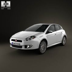 Fiat Bravo 2011 3d model from humster3d.com. Price: $75