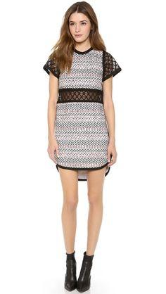 Sweet dress! Sea Lace Cutout Dress