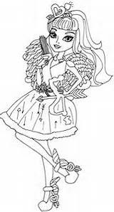 ever after high cupid coloring page