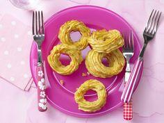 Kartoffel-Gemüse-Kringel »Luftikus« - Kindersnack (4-6 Jahre) - smarter - Kalorien: 161 Kcal - Zeit: 40 Min. | eatsmarter.de