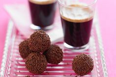 Two of our favourite flavours - chocolate and coffee - are combined in these decadent truffles.
