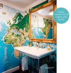To plan your next trip, map walls.