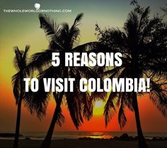 We love meeting friendly, welcoming people and eating delicious street food. Colombia didn't disappoint.