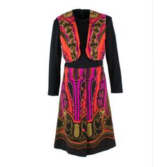 '70s Abstract Dress, £110, now featured on Fab. by A Boys Closet
