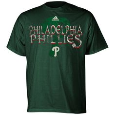 adidas Philadelphia Phillies Youth Kilarney T-Shirt - Green
