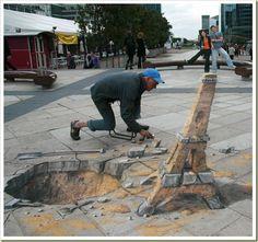 3D Street Art – Arte Urbano en 3D | LA HORA DE DESPERTAR