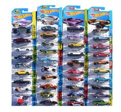 AmazonSmile: Hot Wheels 24-Car Random Assortment Party Pack 2014-2017: Toys & Games