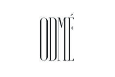 Condensed serif logotype designed by Two Times Elliott for Paris accessory brand Odmé.