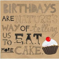There's always room for cake :)