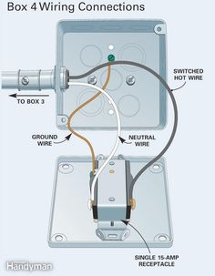 Figure D: Box 4 wiring connections