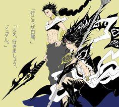Judal & Ren Hakuryuu - Magi: The Labyrinth of Magic