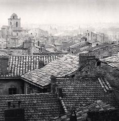 Rooftop View, Arles, France. 1987 Michael Kenna
