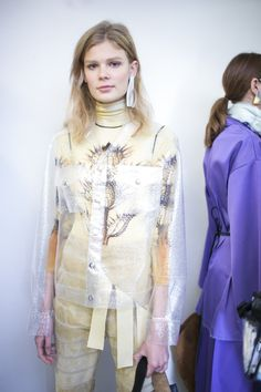 Backstage at #Loewe #SS16 - More #PFW action on The Hub