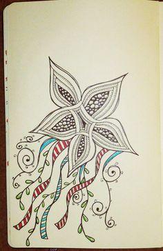 aura knot_moleskine | doodle art
