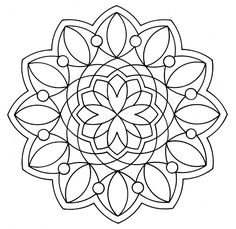 mandala coloring pages-links to lots of free mandala pages