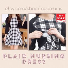 Nursing and maternity dress for breastfeeding moms! Perfect winter 2015 to 2016 maternity fashion  Shop etsy.com/shop/modmums  Follow us and share on FB or IG with @modmums for a GIVEAWAY this month!