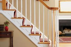 How to add shapely, eye-catching brackets to your stairs. | Photo: Ryan Benyi | thisoldhouse.com