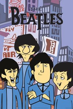 Cartoon Beatles, I watched them every Saturday morning!   ,