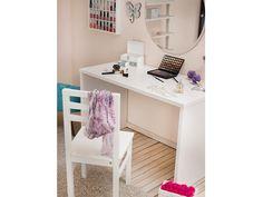 Escrivaninha Delta - Branco Laqueado