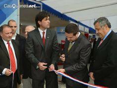 Cauquenesnet.com #DiaNoticias: Una exitosa inauguración tuvo la Feria Inmobiliari...