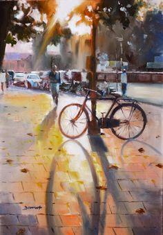 Street scene v deshmukh oil