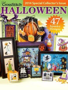 Cross stitch Halloween: 50 spooky Halloween cross-stitch patterns