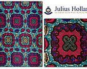 Julius Holland Wax print African fabric per yard/ Wax print online, Julius Holland Dress/ African clothing